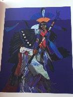 Les Livres Des Peintres Book 1996 with 6 prints Limited Edition Print by John Nieto - 22