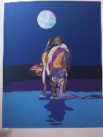 Les Livres Des Peintres Book 1996 with 6 prints Limited Edition Print by John Nieto - 25
