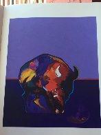 Les Livres Des Peintres Book 1996 with 6 prints Limited Edition Print by John Nieto - 35