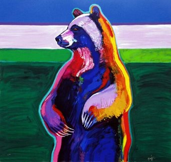 Standing Bear 2005 Limited Edition Print by John Nieto