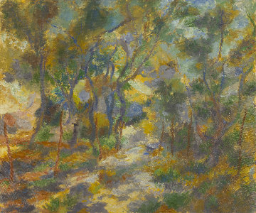 Oak Grove 2014 39x47 Original Painting by Robert Nizamov