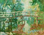 Bridge 2010 40x42 Original Painting - Robert Nizamov