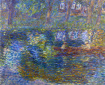 Small River 1999 33x39 Original Painting - Robert Nizamov