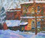 Winter 1999 31x36 Original Painting - Robert Nizamov