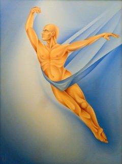 Dans L'air 2008 45x35 Original Painting by  Noel