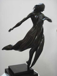 Dancer Bronze Sculpture 2006 24 in Sculpture -  Noel