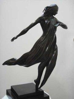 Dancer Bronze Sculpture 2006 24 in Sculpture by  Noel