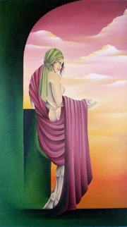 Offering, II 2006 84x45 Original Painting by  Noel