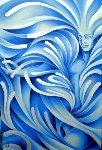 Water the Elements 2010 42x30 Original Painting -  Noel