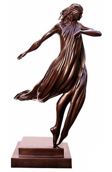 Dancer Bronze Sculpture 2006 25 in Sculpture by  Noel