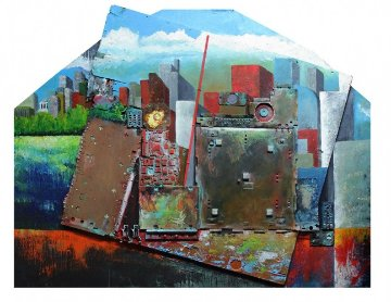 Deep Down and Far Away Original Painting by Chris Noel
