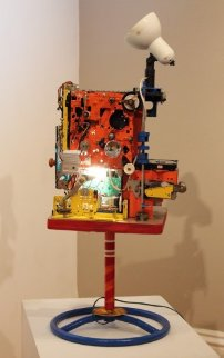 Singularity Mixed Media Assemblage Sculpture 2012 36x16 Sculpture - Chris Noel