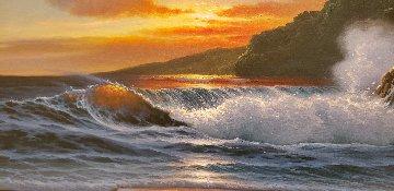 Hawaiian Shore 2003 23x41 Original Painting -  Noelito