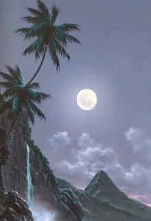 Enchanted Evening 42x26 Huge Original Painting -  Noelito