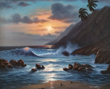 Pacific Splendor 30x36 Original Painting -  Noelito