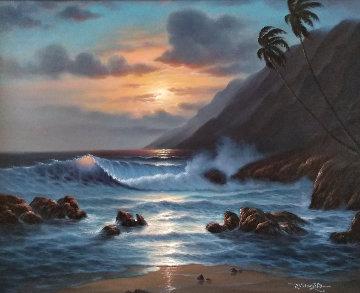 Pacific Splendor 30x36 Original Painting by  Noelito