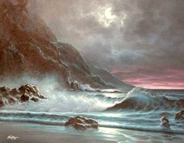 Moonrise Overture Original Painting -  Noelito