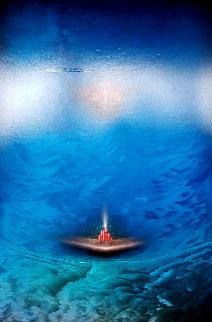 Kn 1530 1999 68x48 Super Huge Original Painting - Andreas Nottebohm