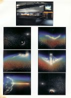 State of the Universe 6 Panel Mural 1986  6 panels 48x36 Mural - Super Huge Original Painting by Andreas Nottebohm - 1