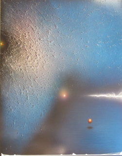 Untitled Painting on Aluminum 1994 48x40 Original Painting by Andreas Nottebohm