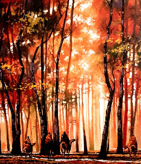When They Do Embellished Limited Edition Print by B.C. Nowlin
