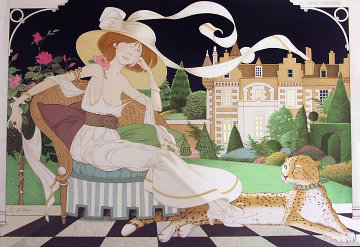 Lady Libelluia Limited Edition Print by Philippe Noyer