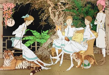 Enchanted Garden 1979 Limited Edition Print - Philippe Noyer