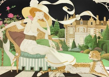 Lady Libellulia 1980 Limited Edition Print by Philippe Noyer