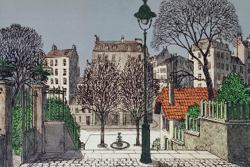 Belle Ville Limited Edition Print - Dennis Paul Noyer