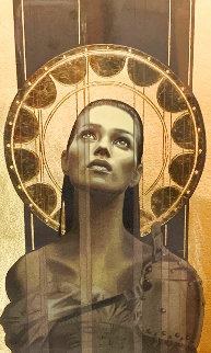 Draweth Nigh, With Gold Leaf  2003 Limited Edition Print - Manuel Nunez
