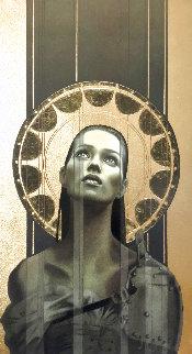Draweth Nigh w/ Gold Leaf PP 1995 Limited Edition Print - Manuel Nunez