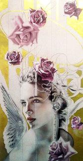 Violet Serene 1995 Limited Edition Print - Manuel Nunez