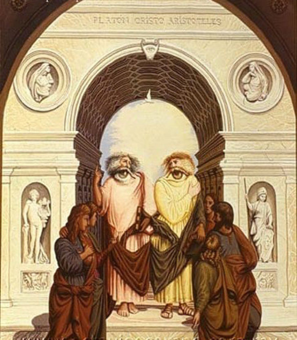 Philosophers Limited Edition Print by Octavio Ocampo