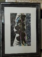 Rincon Falls Black Leaf 2008 Limited Edition Print by Chris Ofili - 1