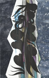 Rincon Falls Black Leaf 2008 Limited Edition Print - Chris Ofili