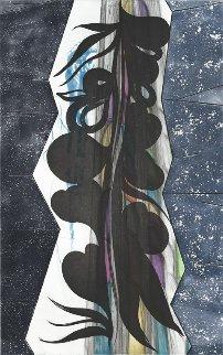 Rincon Falls Black Leaf 2008 Limited Edition Print - Chris Ofili
