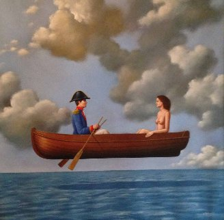 Retrospective Innocense  Original Painting - Rafal Olbinski