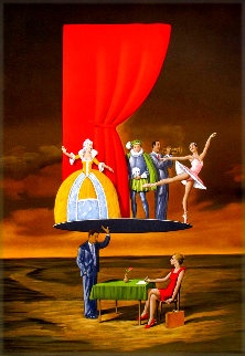 Predictable Assumption 2005 Limited Edition Print - Rafal Olbinski