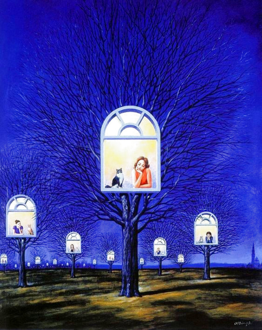 Suspended Promises 2002 Limited Edition Print by Rafal Olbinski