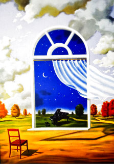 Nocture in E Flat Major 2002 Limited Edition Print - Rafal Olbinski