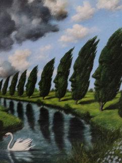 Untitled Painting Original Painting by Rafal Olbinski