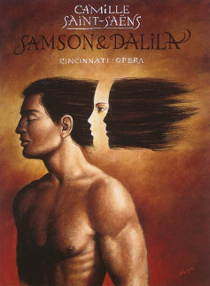 Samson and Delilah Limited Edition Print by Rafal Olbinski