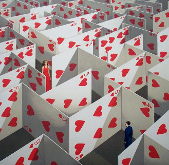 Illusive Specifity PP Limited Edition Print by Rafal Olbinski