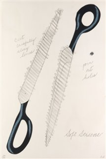 Soft Scissors 1968 Limited Edition Print - Claes Thure Oldenburg