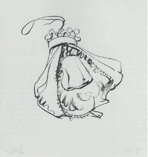 Double-nose Purse Punching Bag 1970 Limited Edition Print by Claes Thure Oldenburg