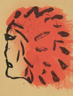Peace Portfolio: Indian Head   1970 Limited Edition Print - Claes Thure Oldenburg