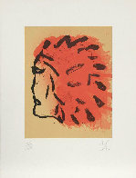 Indian Head From Peace Portfolio 1970 Limited Edition Print by Claes Thure Oldenburg - 1