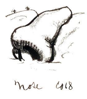 Nose Handkerchief 1968 Limited Edition Print - Claes Thure Oldenburg
