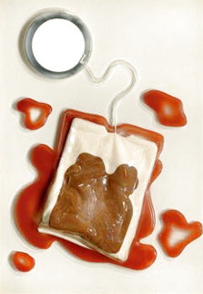 Tea Bag 1966 Sculpture - Claes Thure Oldenburg