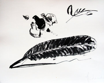 Feather And Ink-Well Limited Edition Print - Claes Thure Oldenburg